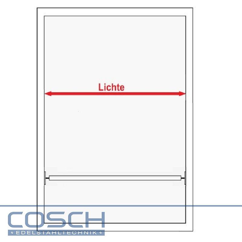 Bevorzugt Edelstahl V2A Fenster Absturzsicherung Geländer Fenstergitter QS34