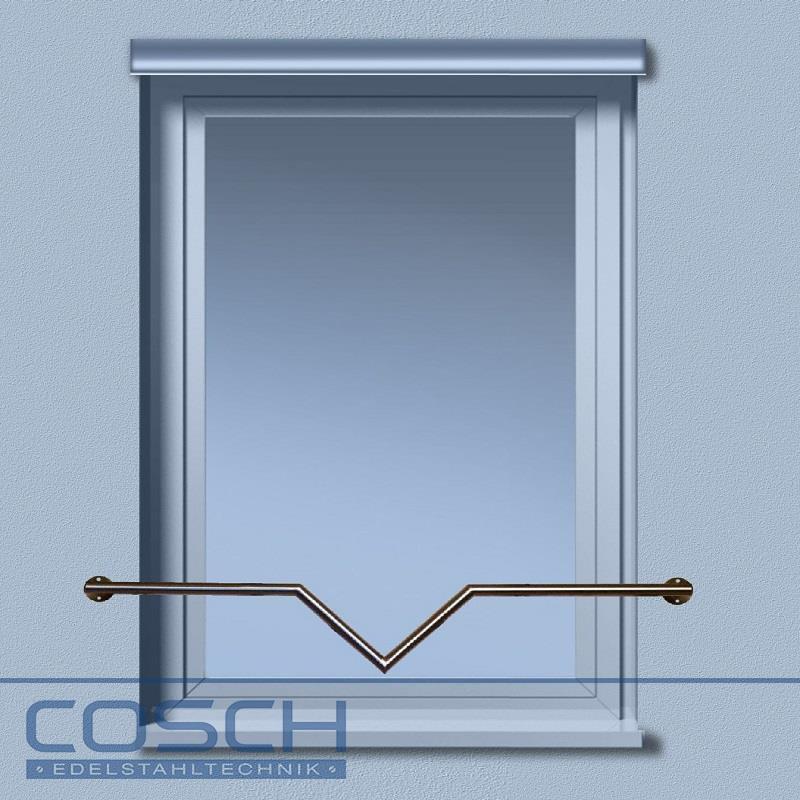 edelstahl v2a fenster absturzsicherung gel nder fenstergitter au enbe 99 95. Black Bedroom Furniture Sets. Home Design Ideas