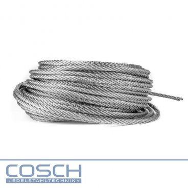 Edelstahl 4-8 mm starkes Drahtseil V2A, 44,08 €