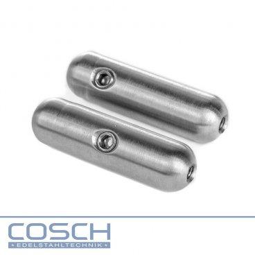 Edelstahl Verbindungsstück V4A für verschiedene Drahtseilstärken, 6,81 €