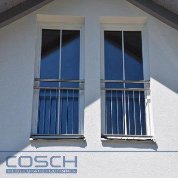 edelstahl v2a franzosischer balkon franz gelander stabgelander innenbefestigung system