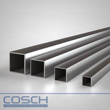 2 Stück Stahlrohr 16x1,5 mm 1000 mm lang